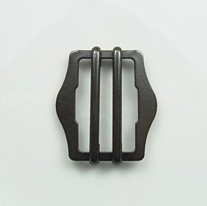 画像1: 真鍮製/山型2本線送りY-8 内径30mm ダール (1)